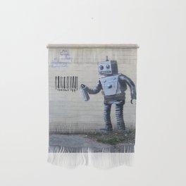 Banksy Robot (Coney Island, NYC) Wall Hanging