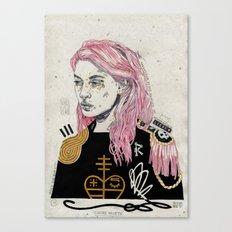 Cuore Morte Canvas Print