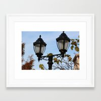 lantern Framed Art Prints featuring Lantern by Innovative Imagery