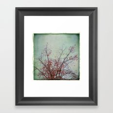 Nature has arms for those who need a hug Framed Art Print