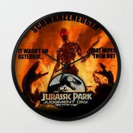 JURASSIC PARK JUDGEMENT DAY Wall Clock