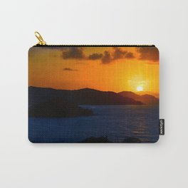 Coral Bay Sunrise Carry-All Pouch