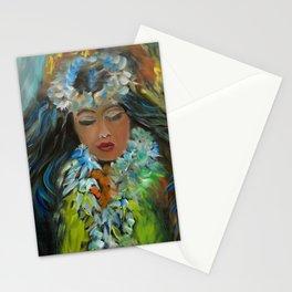 Hawaiian Hula V Stationery Cards