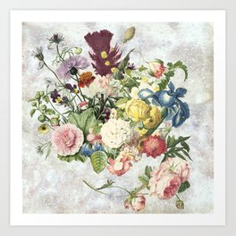 A Flowering Flourish, spring, burgeon, burst! Art Print
