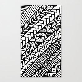 Quick Doodle Canvas Print