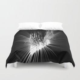 Big bang star explosion Duvet Cover