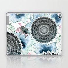 BLOOM MANDALAS IN BLUE Laptop & iPad Skin