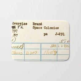 Library Card 797.B7 Bath Mat