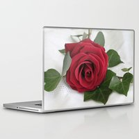 romance Laptop & iPad Skins featuring Romance by Ellie Rose Flynn