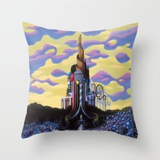 Our Monument To Each Pressing Memory Throw Pillow