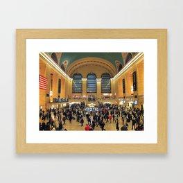 NYC - Grand Central Terminal Framed Art Print
