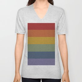 Pretty Rainbow Baby Unisex V-Neck