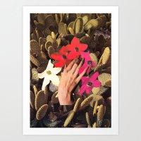 oasis Art Prints featuring OASIS by Beth Hoeckel