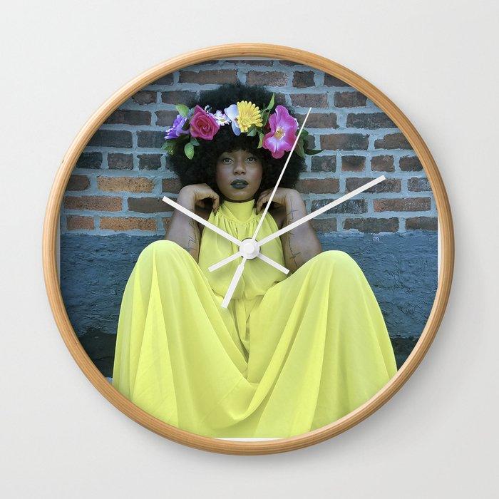 Mother Raye  Wall Clock