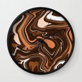 ASTRACT LIQUIDS V Wall Clock