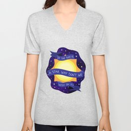 If the Sun is A Star Unisex V-Neck