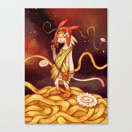 Space Ramen Canvas Print