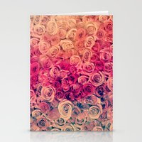roses Stationery Cards featuring Roses by Msimioni