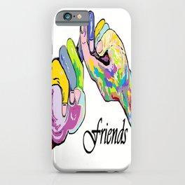ASL Friends iPhone Case