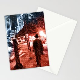 Walking Shadow Stationery Cards
