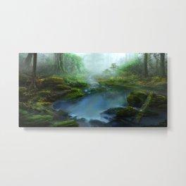 Mystic Pond Metal Print