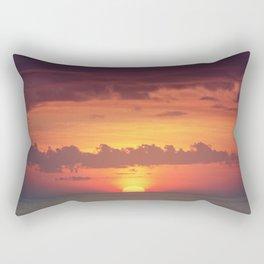 Setting Disk Rectangular Pillow