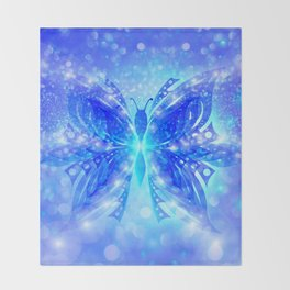 Butterfly Abstract G539 Throw Blanket