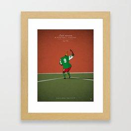Roger Milla Framed Art Print