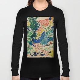 Landscape at Collioure - Henri Matisse - Exhibition Poster Long Sleeve T-shirt