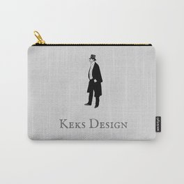 Keks Design Simple Grey Carry-All Pouch