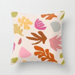 Her Garden II Throw Pillow