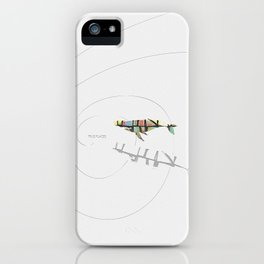 True Places Whale iPhone Case