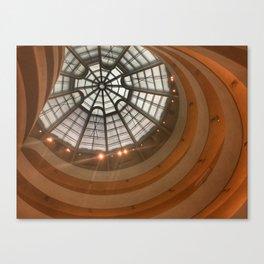 Guggenheim Museum   New York  Canvas Print