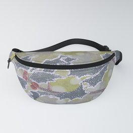 Christmas Holly / Graphitint Painting Fanny Pack