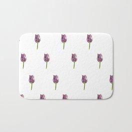 Tulip Pattern Bath Mat