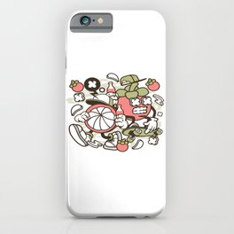 Mangosteenfor animated characters comics and pop culture lovers iPhone Case