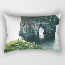 faroe landscape Rectangular Pillow