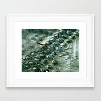 iceland Framed Art Prints featuring iceland by Jo Beerens
