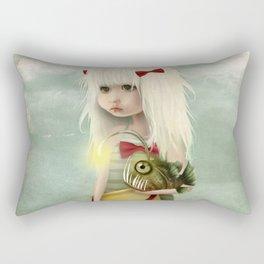 My Fishy Friend Rectangular Pillow