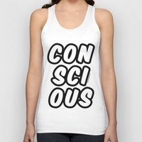 comic book Tank Tops featuring Comic by Conscious Panda