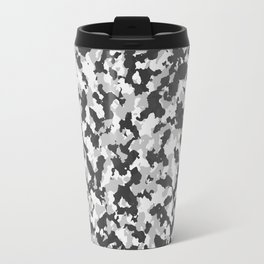 Winter Camoflauge pattern Travel Mug