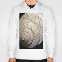 shell Hoodies featuring Shell by Brian Raggatt