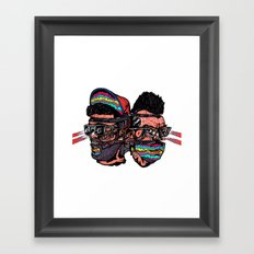 Bass Brothers Framed Art Print