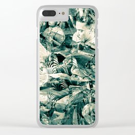 """""""Black Wings 9"""" Cadets Trial"""" Clear iPhone Case"""