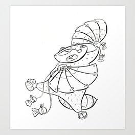 Ninja Fan Art Print