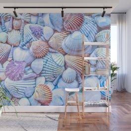 Seashells Everywhere Wall Mural