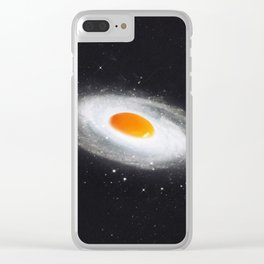 Cosmic Egg Clear iPhone Case