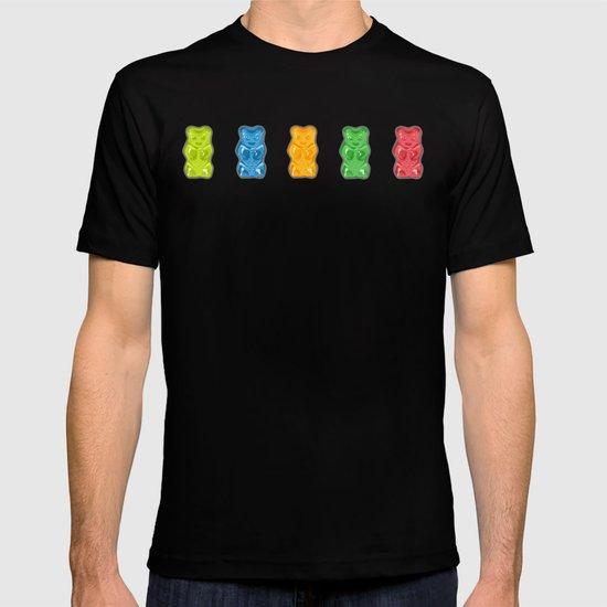 Rainbow Gummy Bears by xooxoo