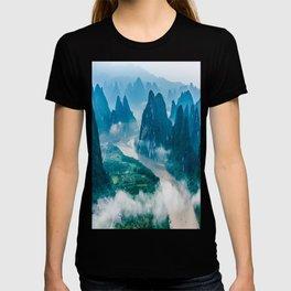Li River in Guilin China 2 T-shirt