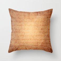 Old World Throw Pillow